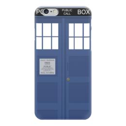 "Чехол для iPhone 6 глянцевый ""Tardis (Тардис)"" - doctor who, tardis, доктор кто, тардис, полицейская будка"