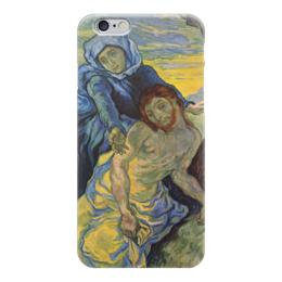 "Чехол для iPhone 6 ""Пьета (картина Ван Гога)"" - картина, ван гог"