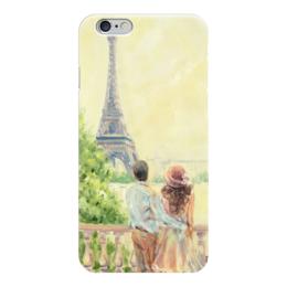 """Чехол для iPhone 6 """"Любовь в Париже"""" - любовь, love, париж, пары, paris"""