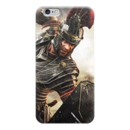 """Чехол для iPhone 6 """"SPQR: Сенат и граждане Рима"""" - история, рим, путь воина, гесс, римская империя"""