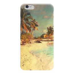 """Чехол для iPhone 6 глянцевый """"Отдых"""" - лето, пляж, море, beach"""