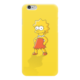 "Чехол для iPhone 6 ""Лиза Симпсон"" - симпсоны, the simpsons, лиза симпсон"