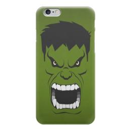 "Чехол для iPhone 6 ""Marvel"" - комиксы, hulk, marvel, супер герои, халк"