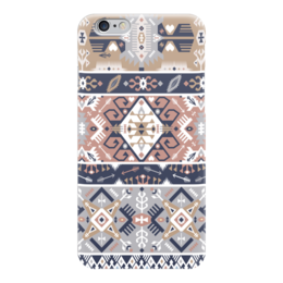 "Чехол для iPhone 6 ""Seamless bright pattern in tribal style"" - tribal, native, aztec, navajo"