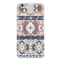 "Чехол для iPhone 6 ""Seamless bright pattern in tribal style"" - tribal, native, aztec, navajo"