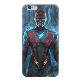 "Чехол для iPhone 6 ""Флэш (Flash)"" - flash, комиксы, dc comics, justice league, лига справедливости"