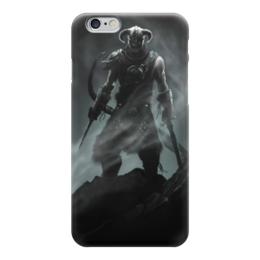 "Чехол для iPhone 6 глянцевый ""Skyrim"" - игра, skyrim, tes, скайрим, довакин"