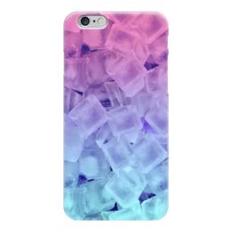 """Чехол для iPhone 6 """"Кусочки льда """" - абстракция, 3d"""