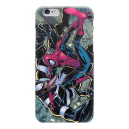 """Чехол для iPhone 6 """"Человек-паук (Spider-man)"""" - venom, spider-man, человек-паук, веном, peter parker"""