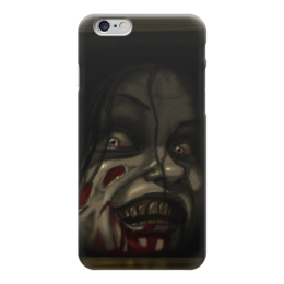 """Чехол для iPhone 6 глянцевый """"Мия (Зловещие Мертвецы)"""" - evil dead, зловещие мертвецы, ужас"""