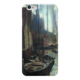 "Чехол для iPhone 6 ""Геммерфест. Северное сияние"" - картина, коровин"