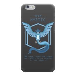 """Чехол для iPhone 6 глянцевый """"Team Mystic"""" - мультфильм, pokemon, покемон, мистик, mystic"""