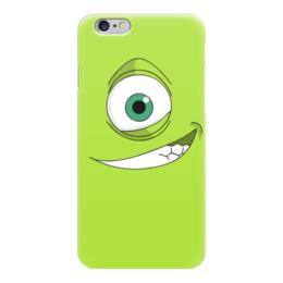 """Чехол для iPhone 6 """"Майк Вазовски"""" - дисней, майк, корпорация монстров, пиксар"""