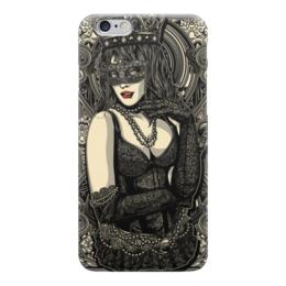 """Чехол для iPhone 6 """"Королева"""" - девушка, королева, иллюстрация"""