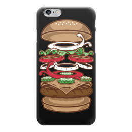 "Чехол для iPhone 6 ""BURGER KING"" - арт, еда, burger, burger king"
