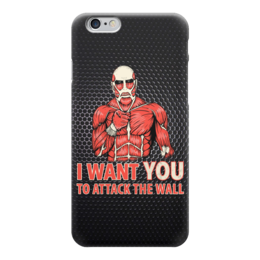 "Чехол для iPhone 6 ""Атака Титанов (Attack on Titan)"" - манга, атака титанов, attack on titan"