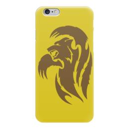 """Чехол для iPhone 6 """"Медведь"""" - медведь, животное, коричневый, лапы, бурый"""