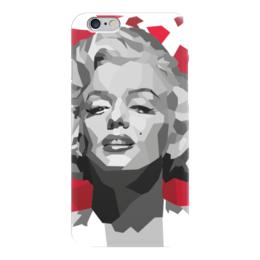 "Чехол для iPhone 6 глянцевый ""Мэрилин Монро (Marilyn Monroe)"" - мэрилин монро, marilyn monroe"