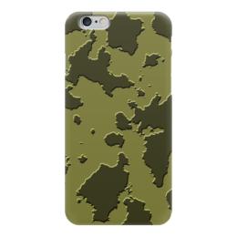 """Чехол для iPhone 6 """"Серо-Зелёный Камуфляж"""" - армия, камуфляж, camouflage, военный, серо зелёный камуфляж"""