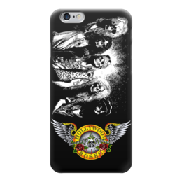 "Чехол для iPhone 6 ""Guns n' roses"" - heavy metal, glam, guns n roses, хэви метал, guns n' roses"