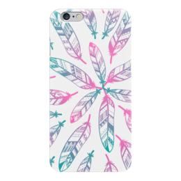 """Чехол для iPhone 6 """"В стиле Бохо"""" - арт, хиппи, инди, перья, бохо"""