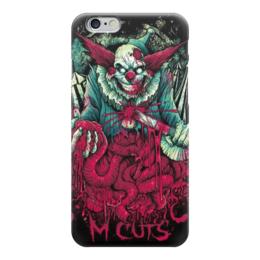 """Чехол для iPhone 6 """"Клоун зомби"""" - хэллоуин, зомби, joker, кишки, клоун"""