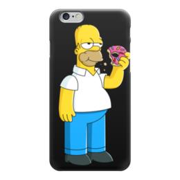 """Чехол для iPhone 6 """"Симпсоны"""" - гомер, симпсоны"""