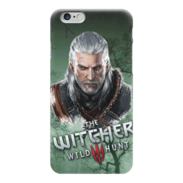 "Чехол для iPhone 6 глянцевый ""witcher"" - witcher, the witcher, ведьмак"