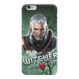 "Чехол для iPhone 6 глянцевый ""witcher"" - witcher, the witcher, ведьмак"