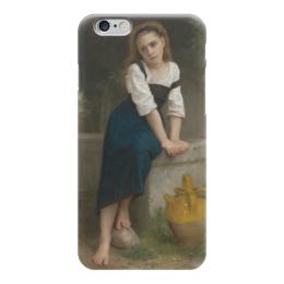 """Чехол для iPhone 6 """"Сирота у фонтана (Orpheline à la fontaine)"""" - картина, бугро"""