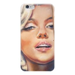 """Чехол для iPhone 6 глянцевый """"Мерилин """" - ретро, монро, мэрилин монро, marilyn monroe"""