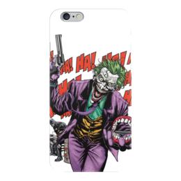 """Чехол для iPhone 6 """"Бэтмен и Джокер"""" - joker, комиксы, batman, dc, dc comics"""