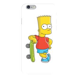 "Чехол для iPhone 6 ""симпсоны"" - симпсоны, the simpsons, bart simpson, барт симпсон"