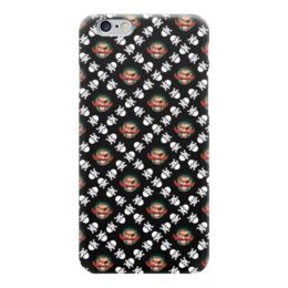 """Чехол для iPhone 6 глянцевый """"Бармалей"""" - череп, пираты, кости, пират, бармалей"""