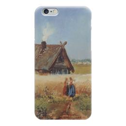 """Чехол для iPhone 6 """"Кутузовская изба"""" - картина, саврасов"""