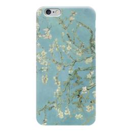"Чехол для iPhone 6 ""Цветы миндаля (Almond Blossom)"" - картина, ван гог"