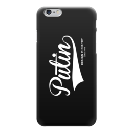 "Чехол для iPhone 6 ""Putin by Design Ministry"" - путин, президент, putin, president, designministry"