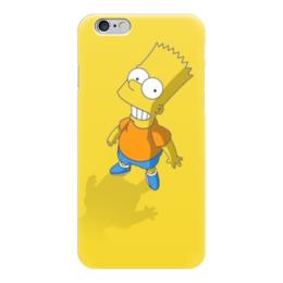 """Чехол для iPhone 6 """"симпсоны"""" - мультфильмы, симпсоны, the simpsons, барт"""