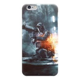 "Чехол для iPhone 6 ""Battlefield"" - армия, война, war, солдат, вонный"