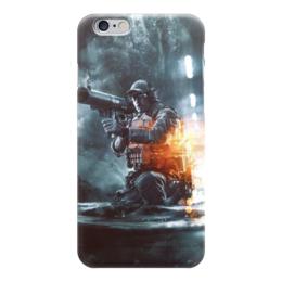 """Чехол для iPhone 6 """"Battlefield"""" - армия, война, war, солдат, вонный"""