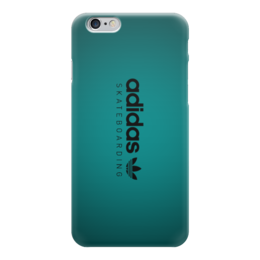 "Чехол для iPhone 6 глянцевый ""Adidas Skateboarding"" - арт, adidas, скейтбординг"