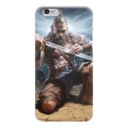 "Чехол для iPhone 6 ""Варвар "" - арт, diablo 3, barbarian"