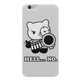 "Чехол для iPhone 6 ""Bad Cat"" - кот, bad, hell, cat, плохой"