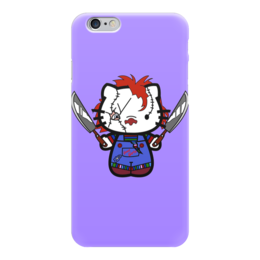 "Чехол для iPhone 6 ""Hello Chucky"" - hello kitty, убийца, killer, чаки, chucky"