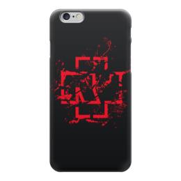 "Чехол для iPhone 6 ""Rammstein"" - rammstein, метал, рамштайн, индастриал-метал"