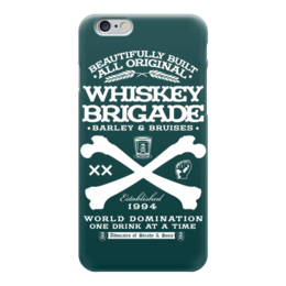 "Чехол для iPhone 6 ""Whiskey Brigade"" - алкоголь, виски, whiskey, alcohol, whiskey brigade"
