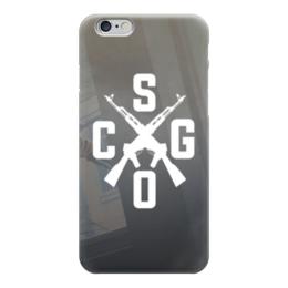 """Чехол для iPhone 6 """"CS:GO"""" - кс, автомат, counter-strike, контра"""