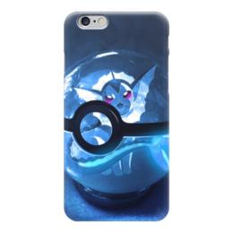 """Чехол для iPhone 6 """"Vaporeon (Pokemon)"""" - pokemon, water, go, vaporeon, eevee"""