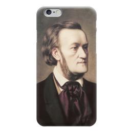 """Чехол для iPhone 6 """"Портрет Рихарда Вагнера"""" - картина, виллих"""