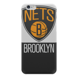 "Чехол для iPhone 6 ""Brooklyn Nets"" - баскетбол, nba, нба, бруклин нетс, brooklyn nets"